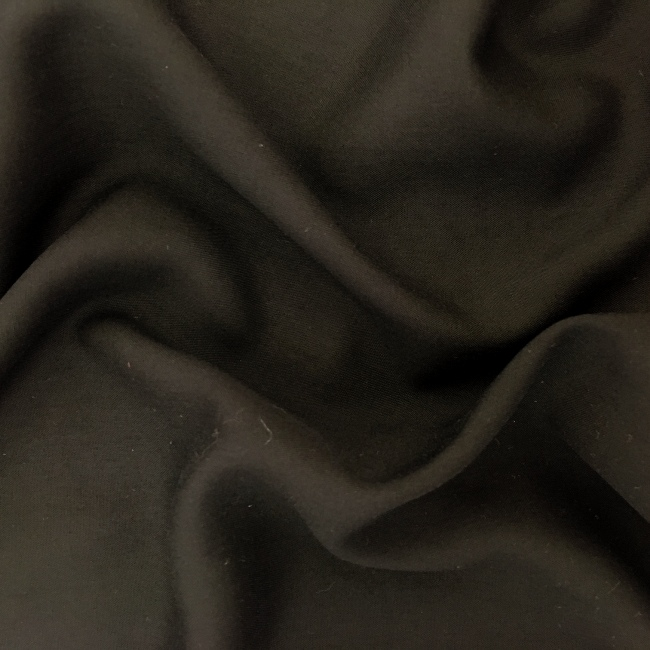 Plain 100% Viscose BLACK