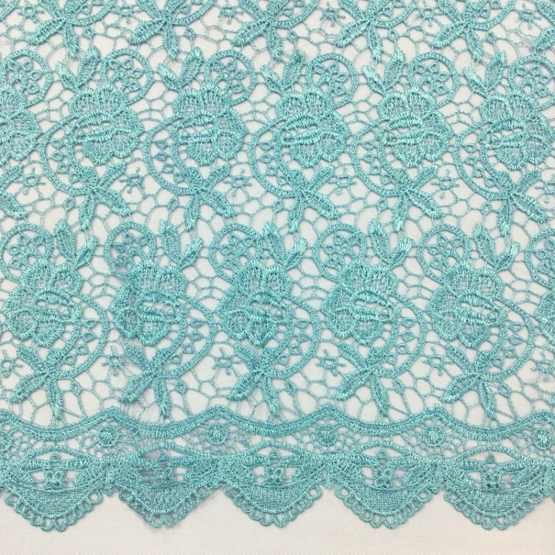 Scalloped Floral Lace MINT