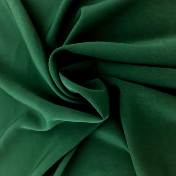 Swiss Crepe FOREST GREEN
