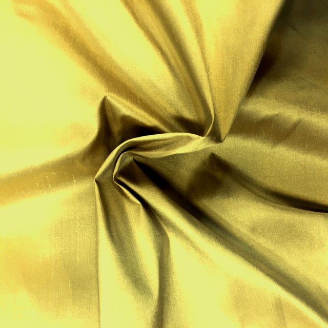 Dupion Silk - PURE GOLD