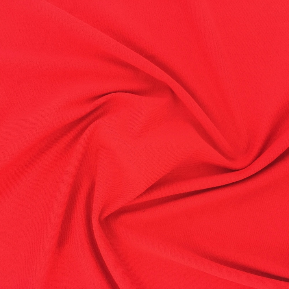 Cotton Spandex Jersey RED
