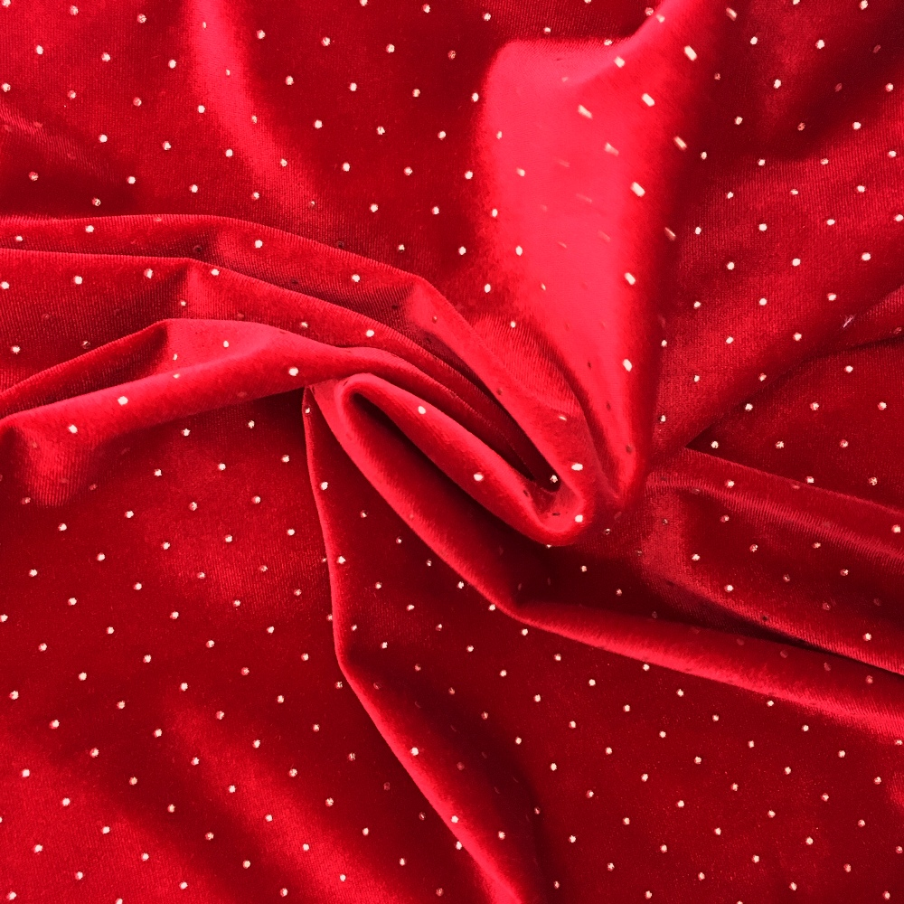Dew Drop Velvet RED