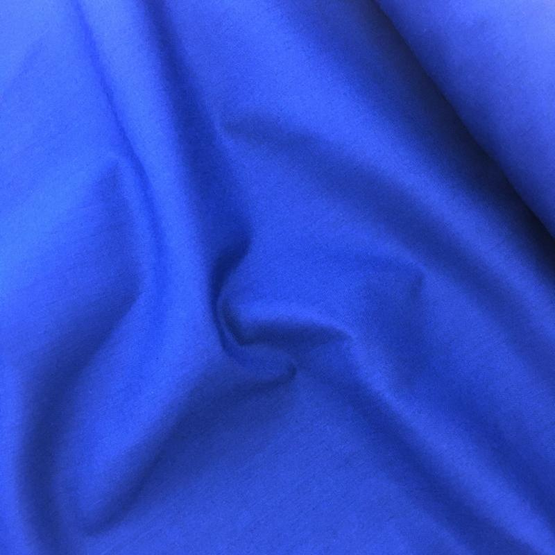 Budget Polycotton by the Roll - ROYAL BLUE