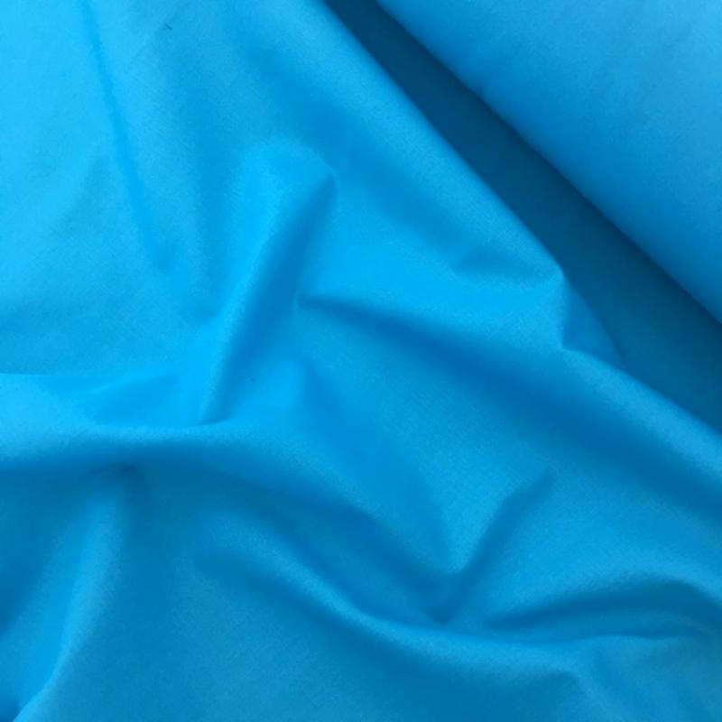 Budget Polycotton by the Roll - TURQUOISE