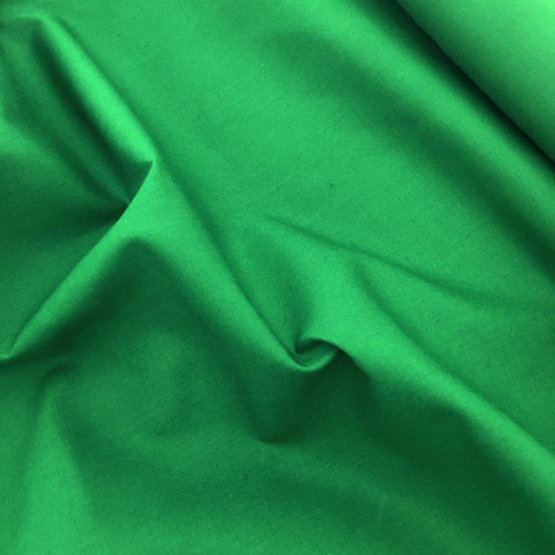 Budget Polycotton by the Roll - EMERALD GREEN