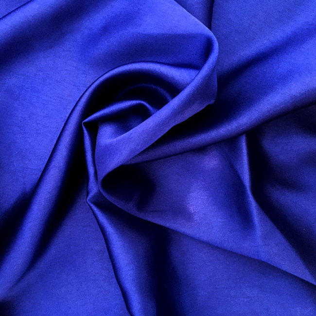 Liquid Satin by the Roll - ROYAL BLUE