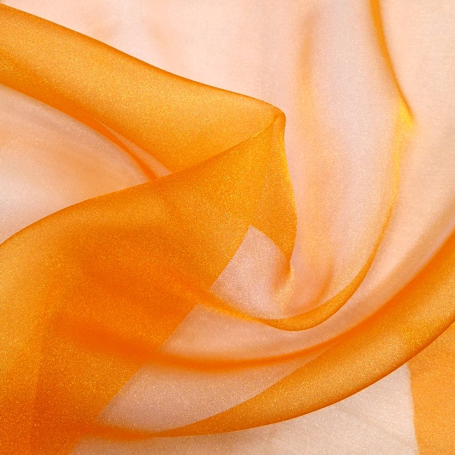 Crystal Organza MID ORANGE