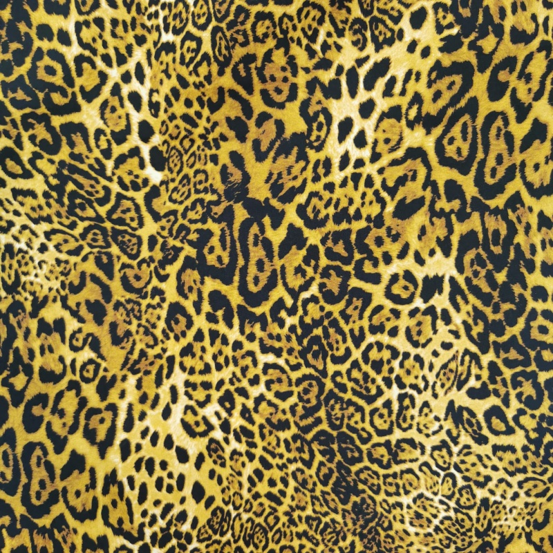 100% Cotton Poplin - LEOPARD