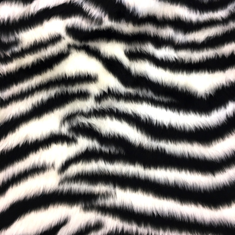 Novelty Fur Zebra Fur