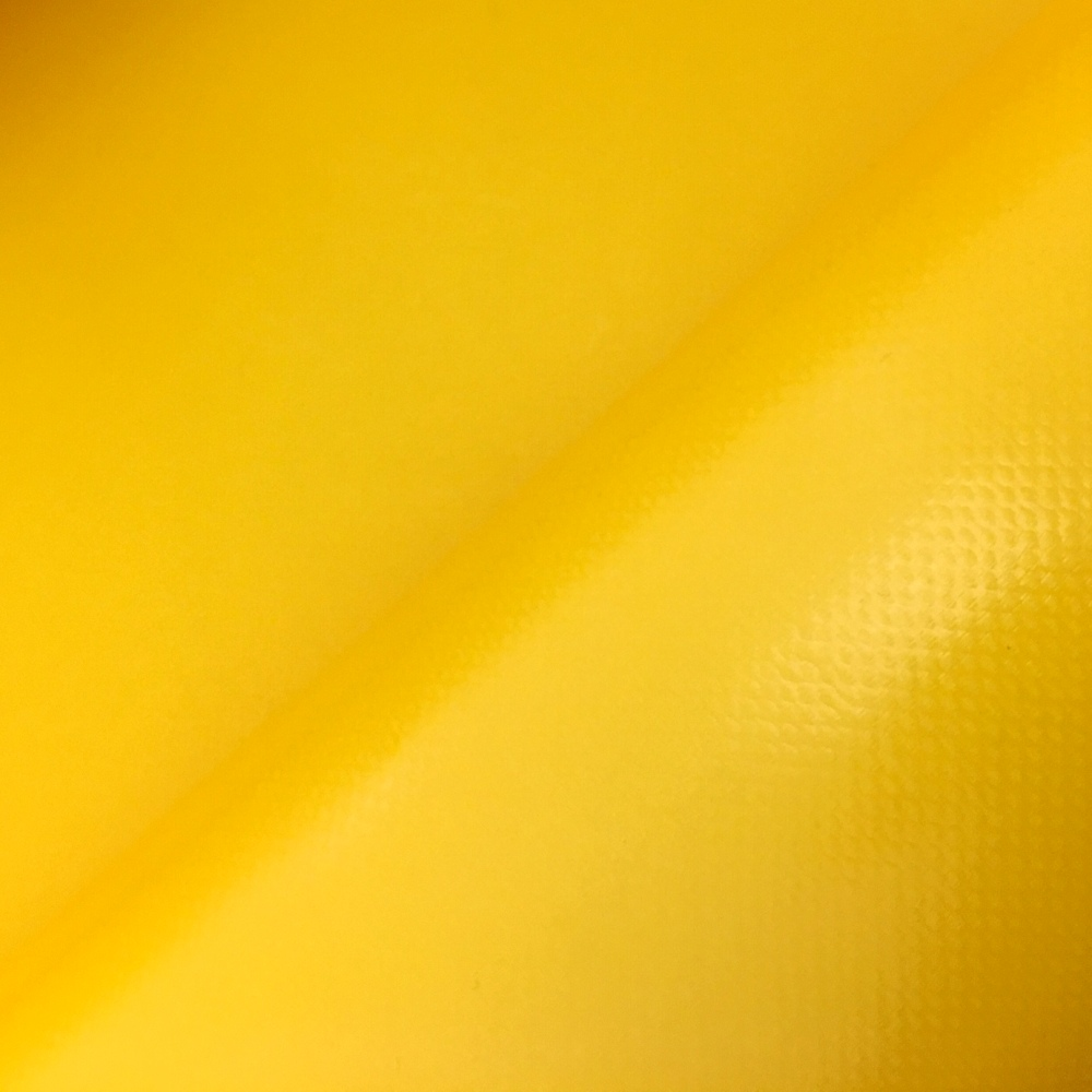PVC Polyester FLAME RETARDANT Yellow
