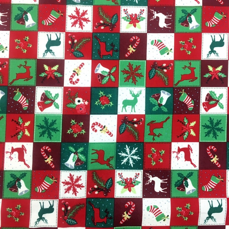 Patchwork Xmas 2 MULTI
