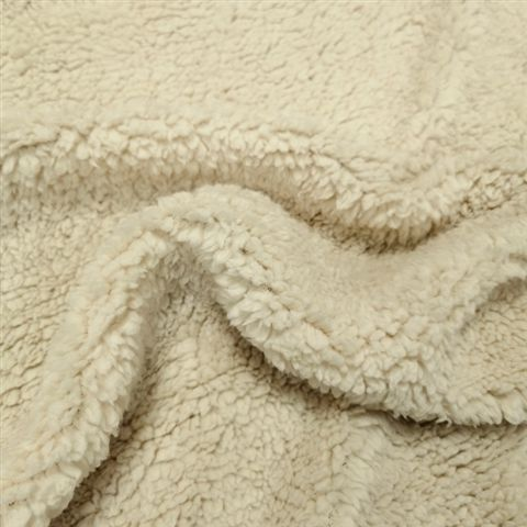 Sherpa Fleece Cream