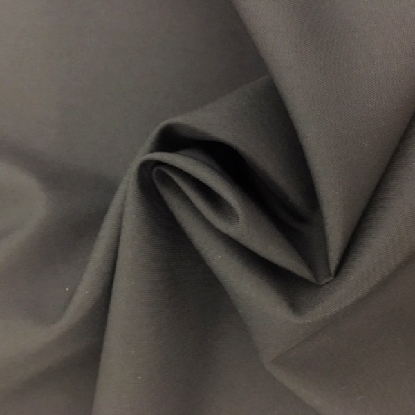 3 metre wide Polyester FLAME RETARDANT DARK GREY