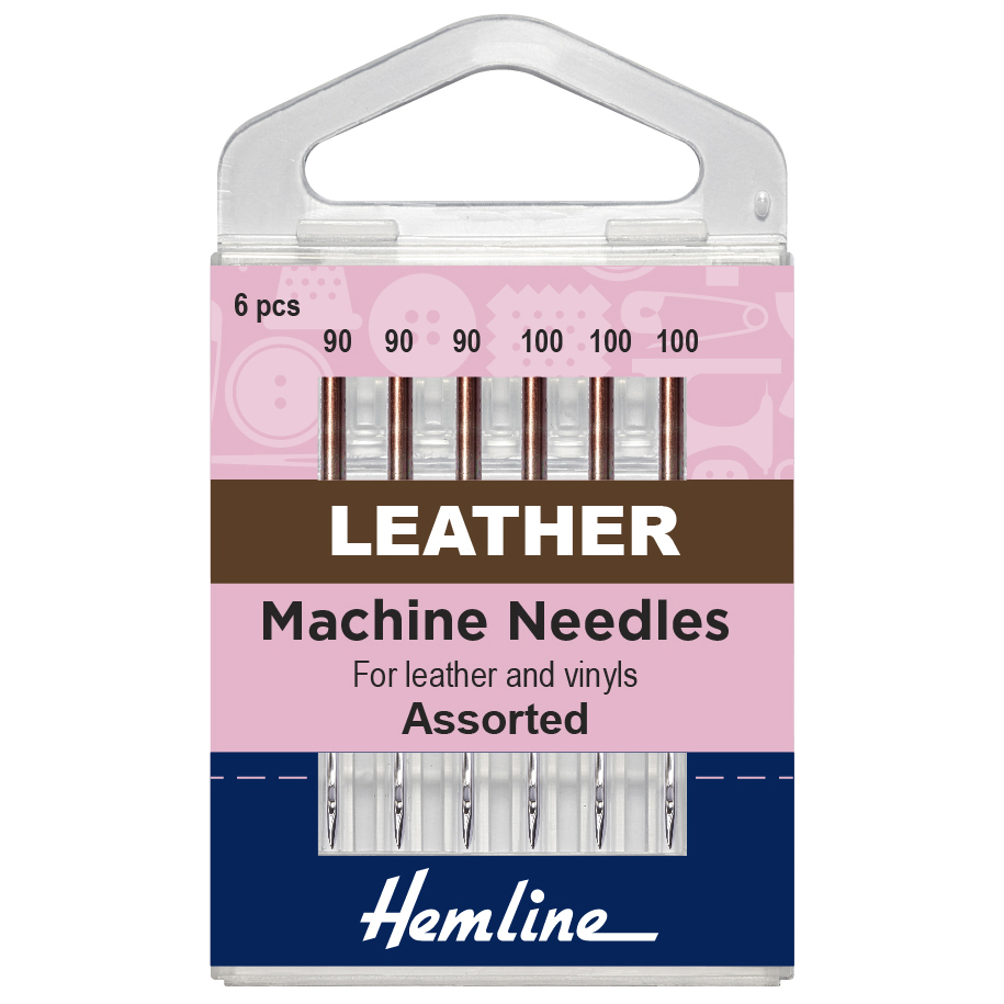 Assorted Leather Machine Needles