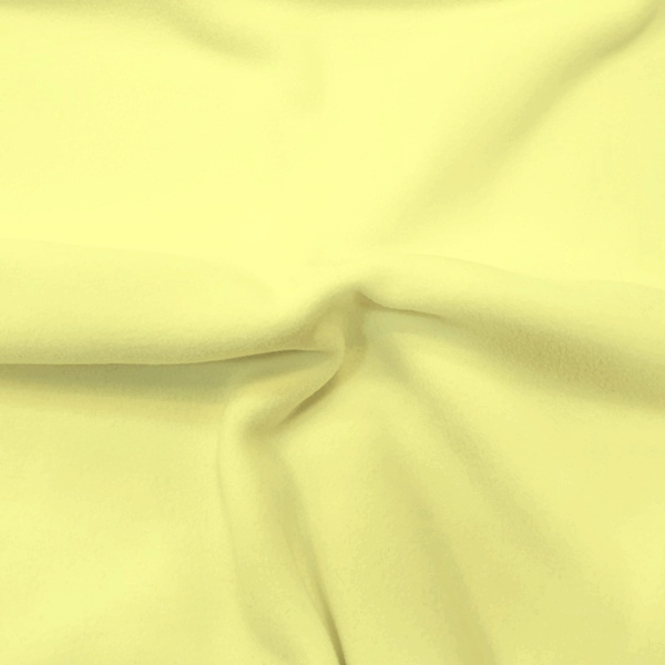 Plain Fleece Fabric LEMON