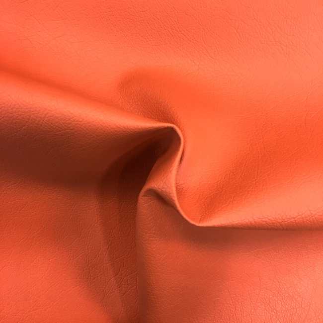 Flame Retardant Leatherette ORANGE