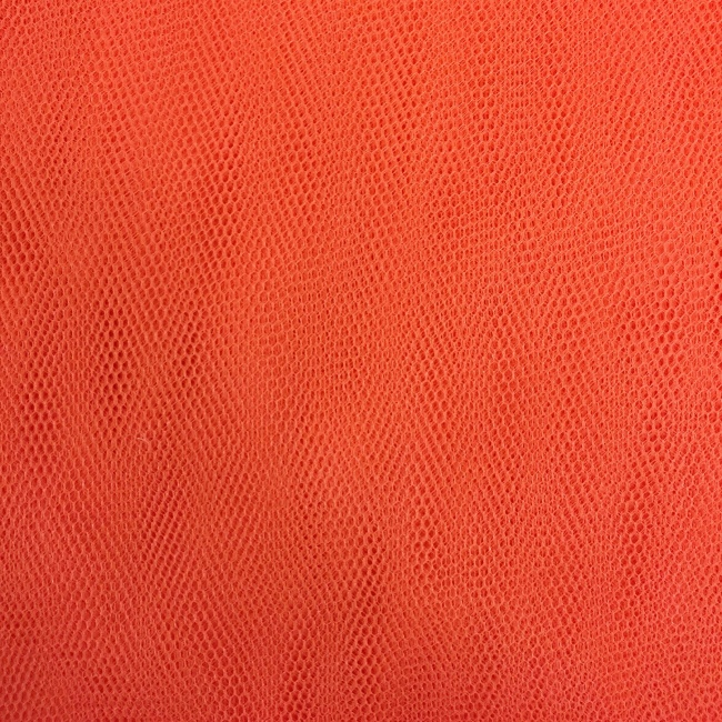 Plain Dressnet Orange