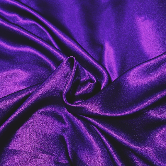Crepe Backed Satin Purple