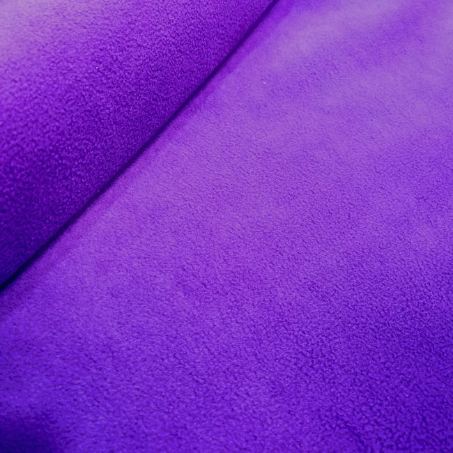Plain Fleece Fabric  PURPLE