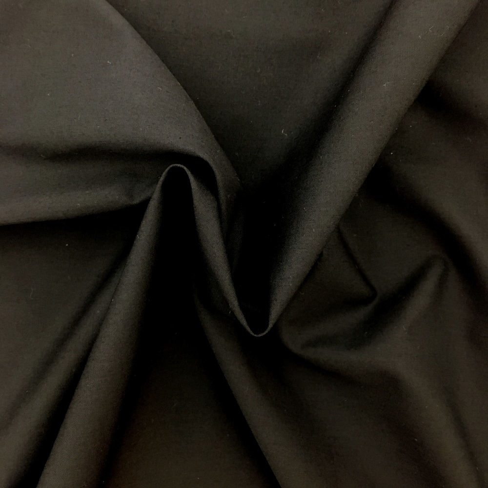4.2 metre wide Cotton Sheeting Flame Retardant- BLACK
