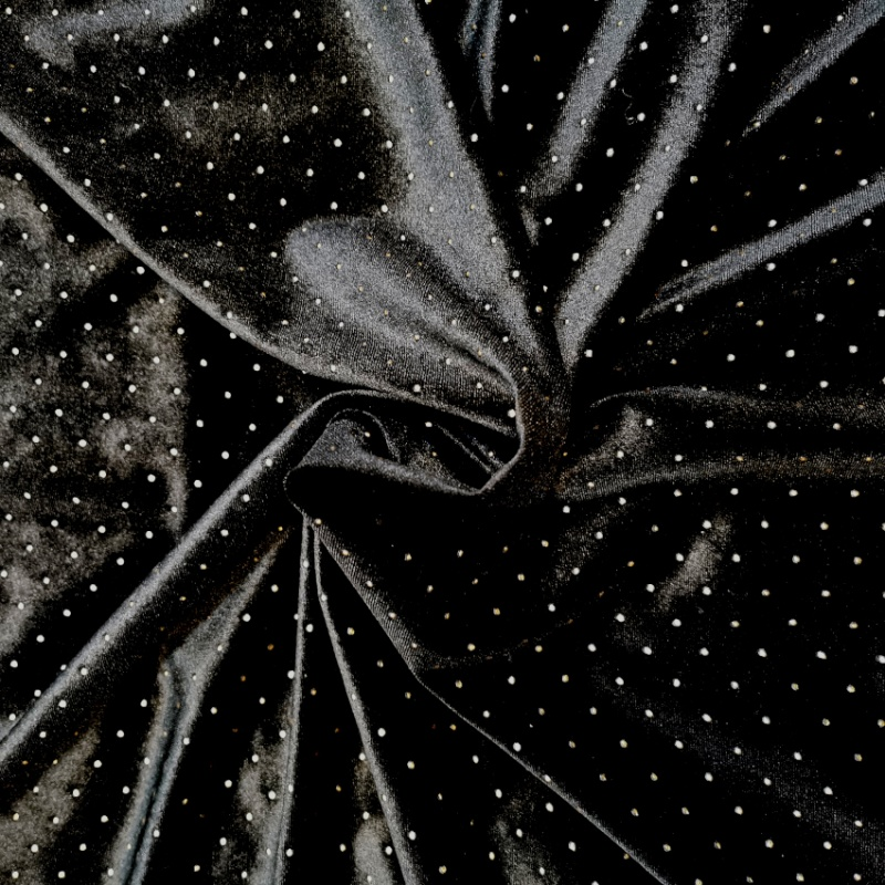Dew Drop Velvet BLACK