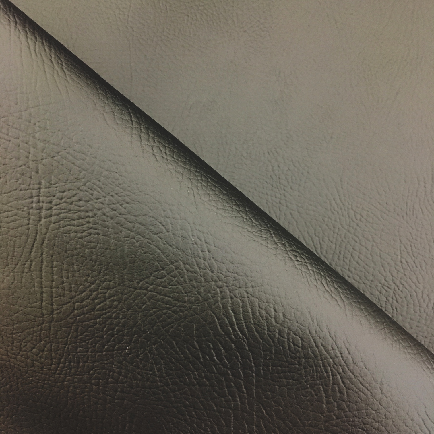 Flame Retardant Leatherette Black