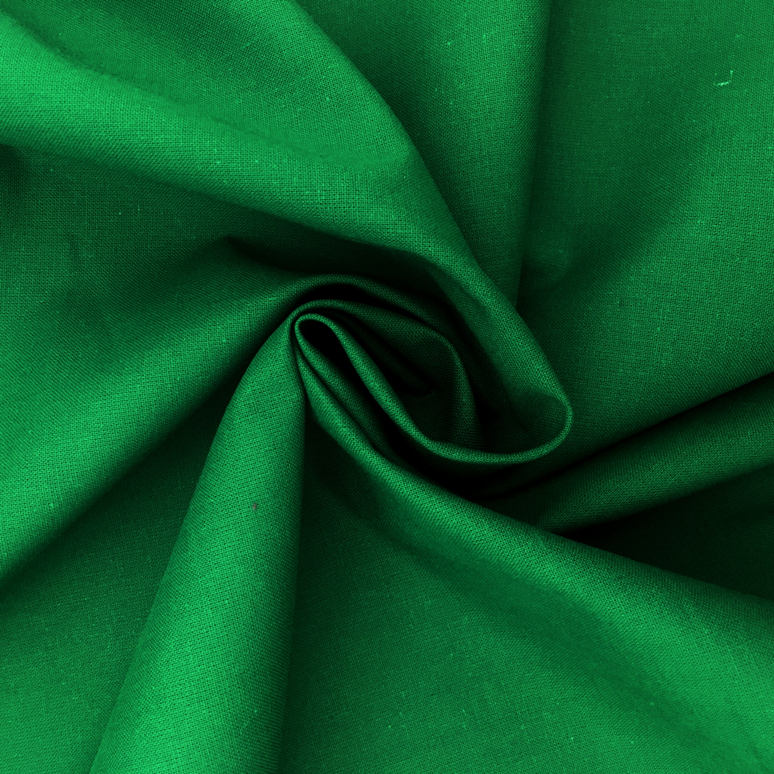100% Cotton Fabric Dark Green
