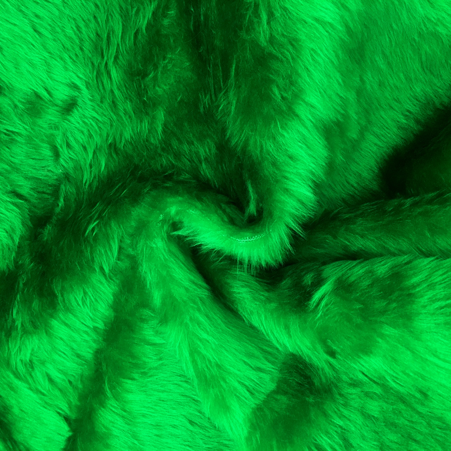 Plain Fur - EMERALD GREEN