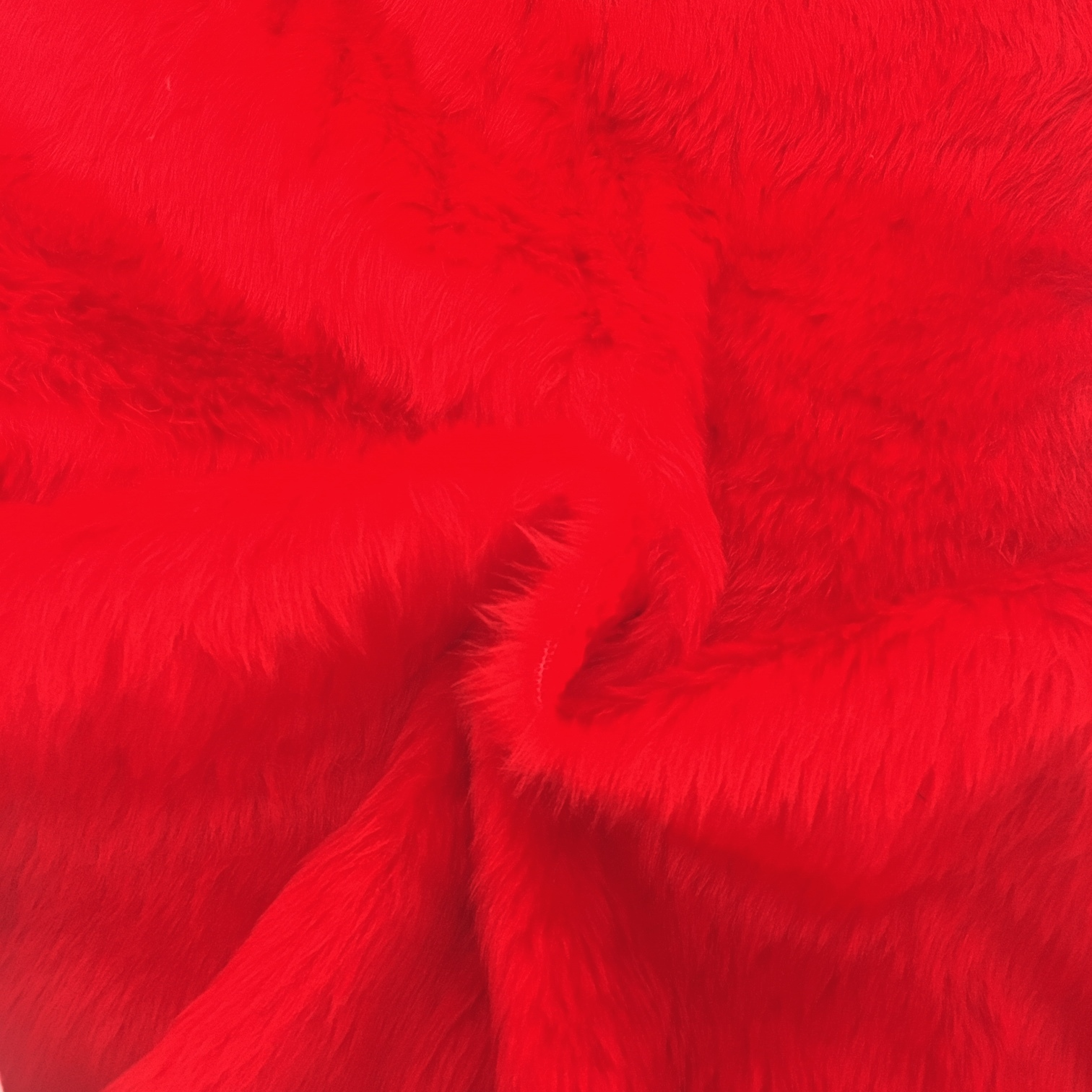 Plain Fur - RED