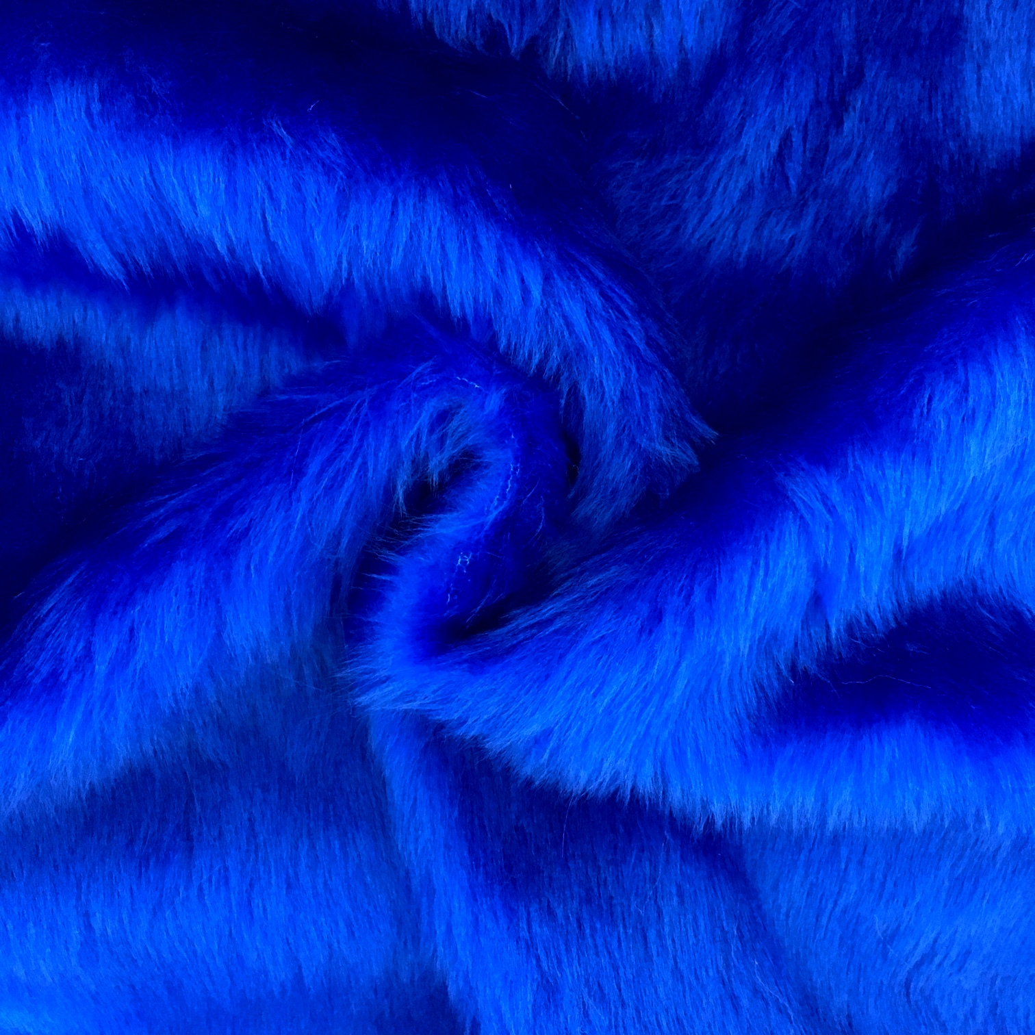 Plain Fur - ROYAL BLUE