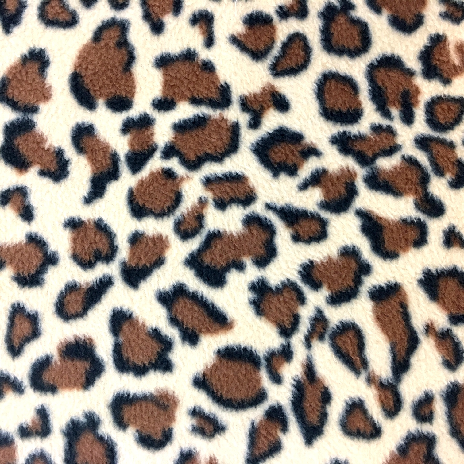 Printed Fleece Fabric - Leopard