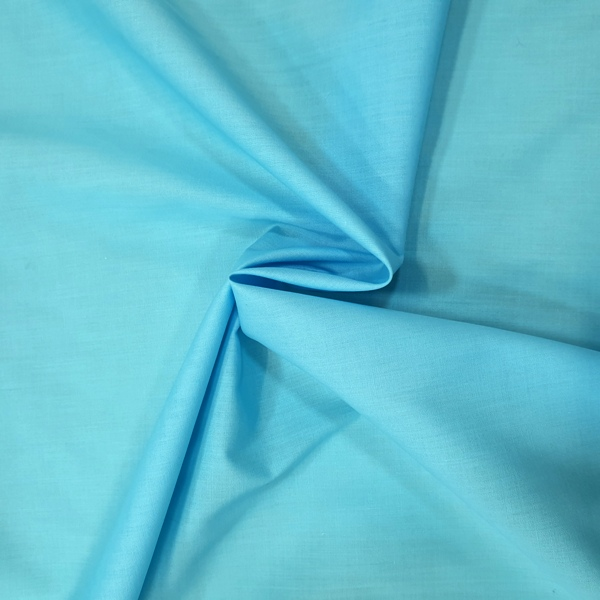 Plain Polycotton 45'' LIGHT TURQUOISE