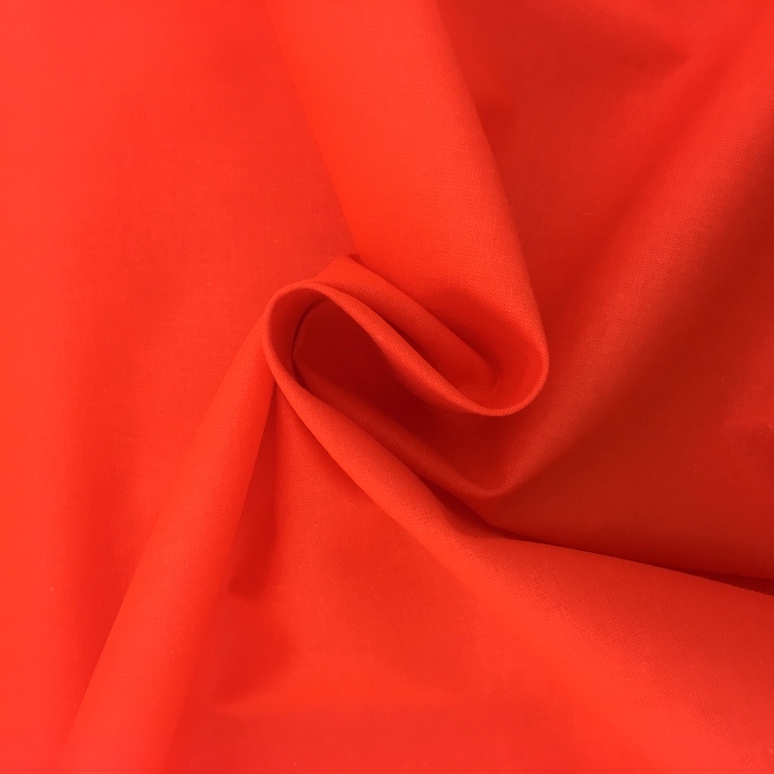 100% Cotton Fabric Orange