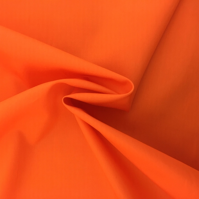 100% Cotton Poplin - ORANGE