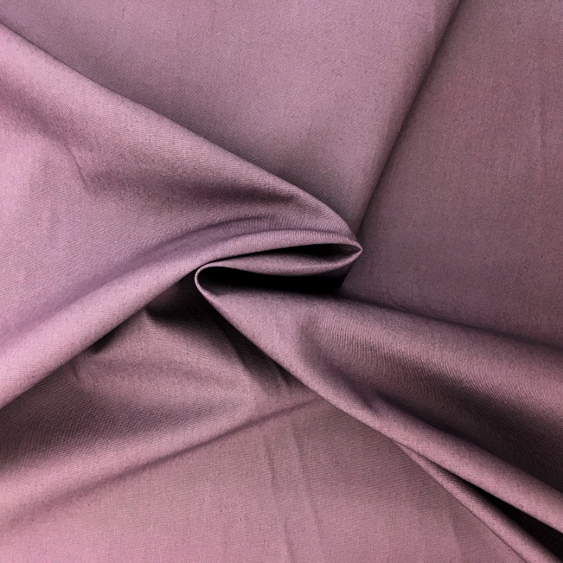 100% Cotton Poplin - PLUM