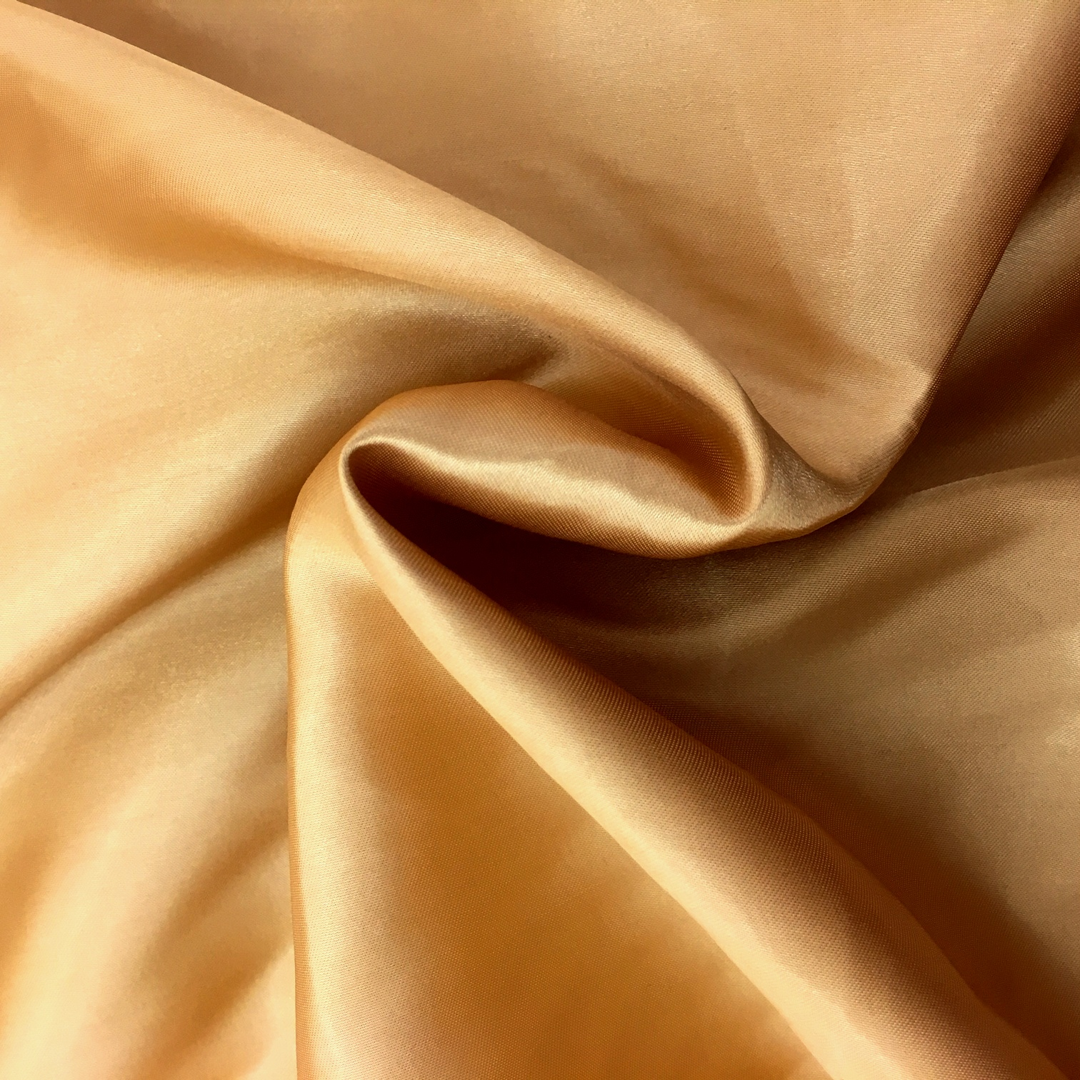 Polyester Satin - Antique Gold