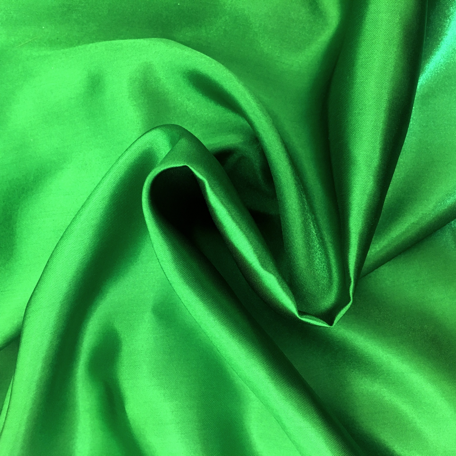 20 metres of Polyester Satin - Emerald Green