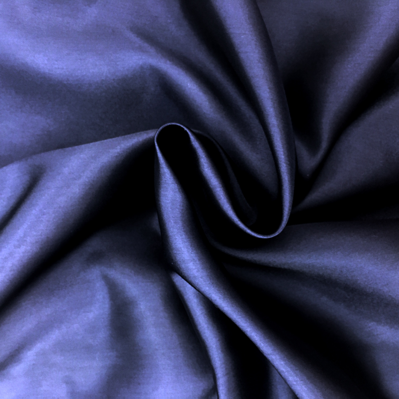 Polyester Satin - Navy