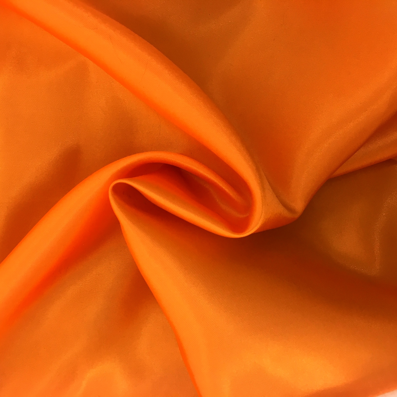 20 metres of Polyester Satin - Orange