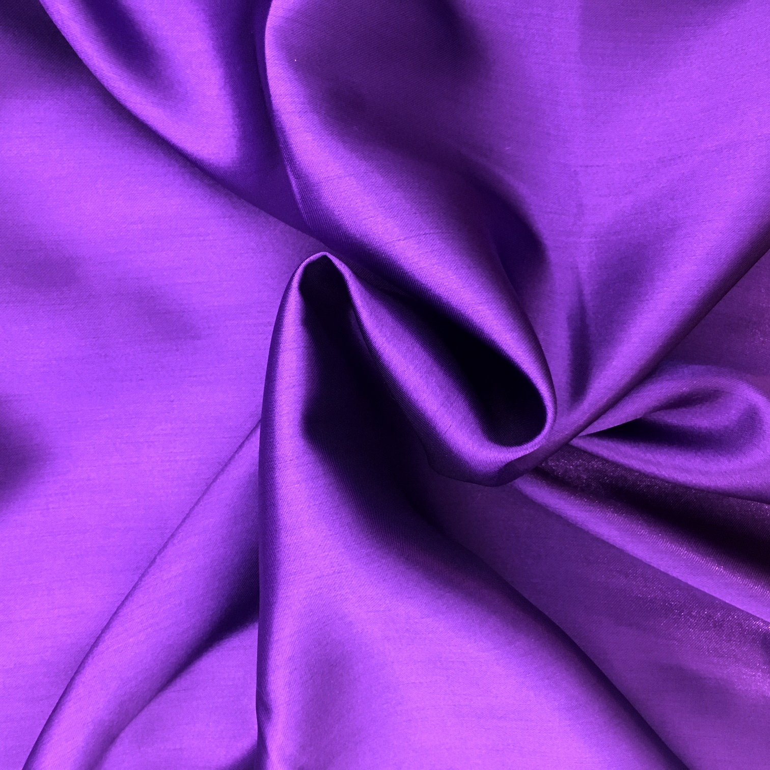 20 metres of Polyester Satin - Purple