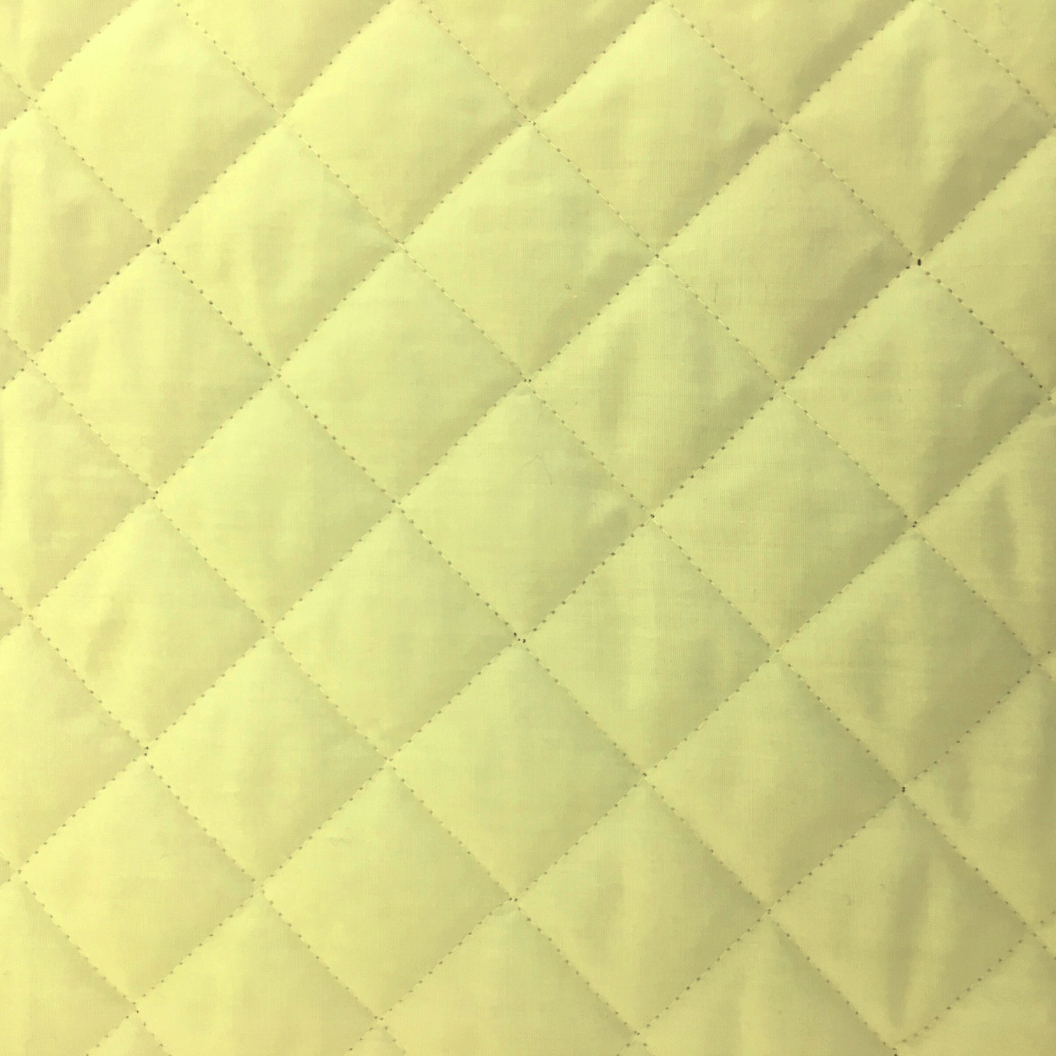 Quilted Polycotton CREAM