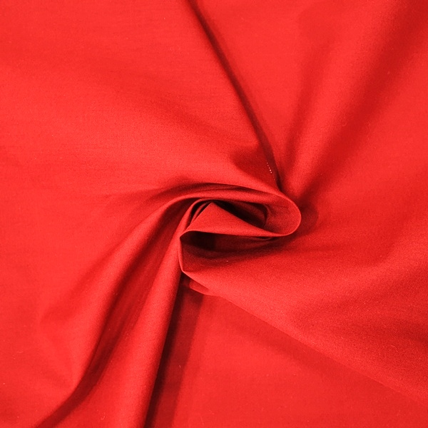 COTTON CASEMENT FLAME RETARDANT (1.5 metres wide)- RED
