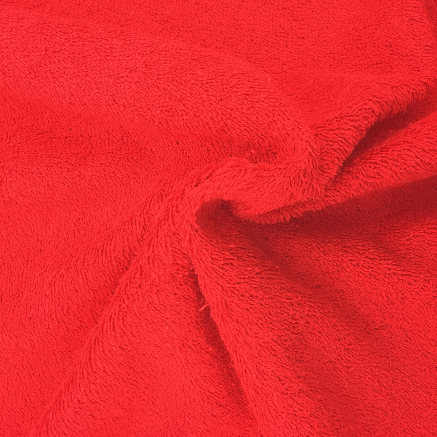 Towelling - RED