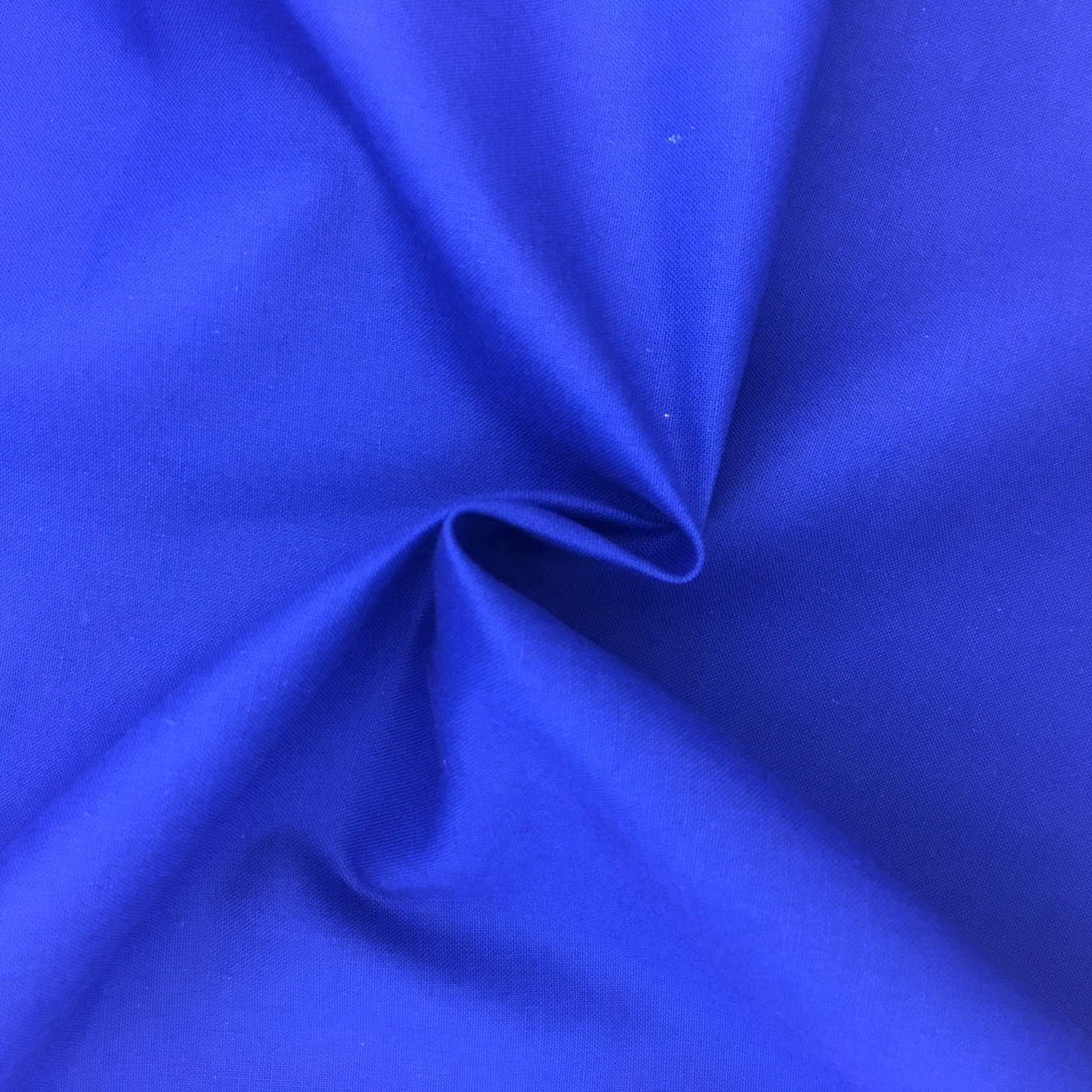 100% Cotton Fabric Royal Blue