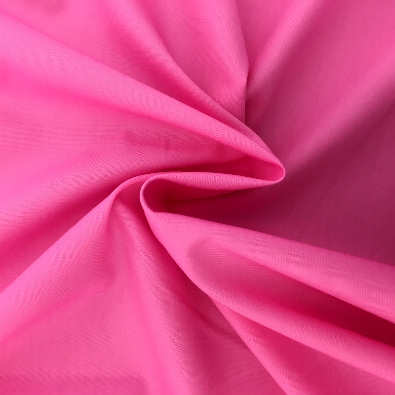 100% Cotton Poplin - SUGAR PINK