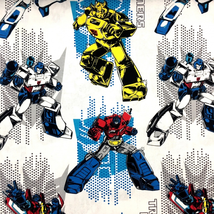 Character 100% Cotton TRANSFORMERS
