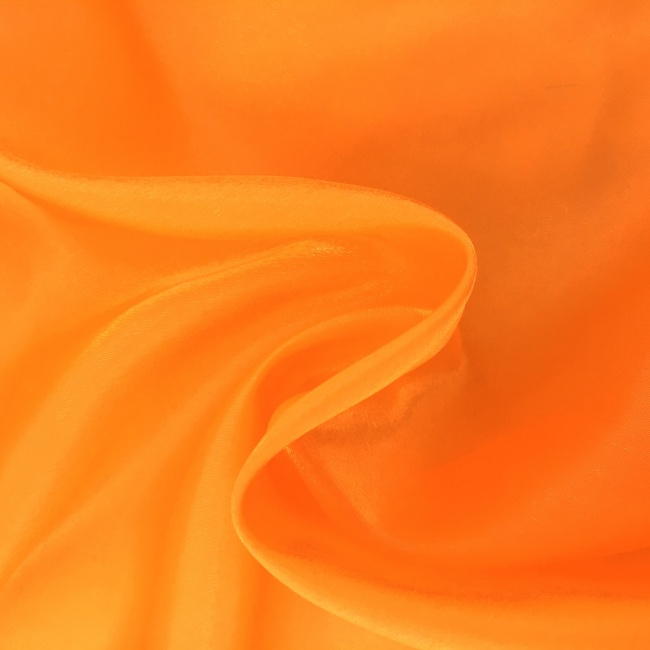 Twinkle Satin - FLUORESCENT ORANGE