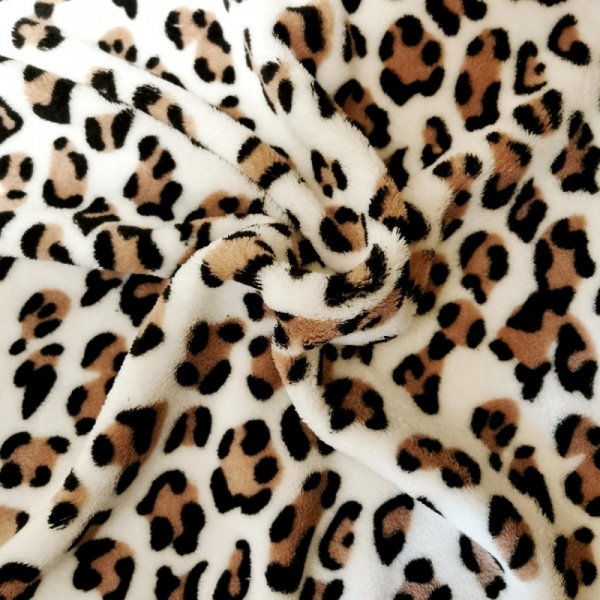 Leopard FLUFFY FLEECE