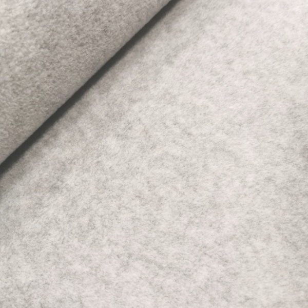 Plain Fleece Fabric  LIGHT GREY