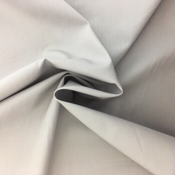 100% Cotton Poplin - LIGHT GREY